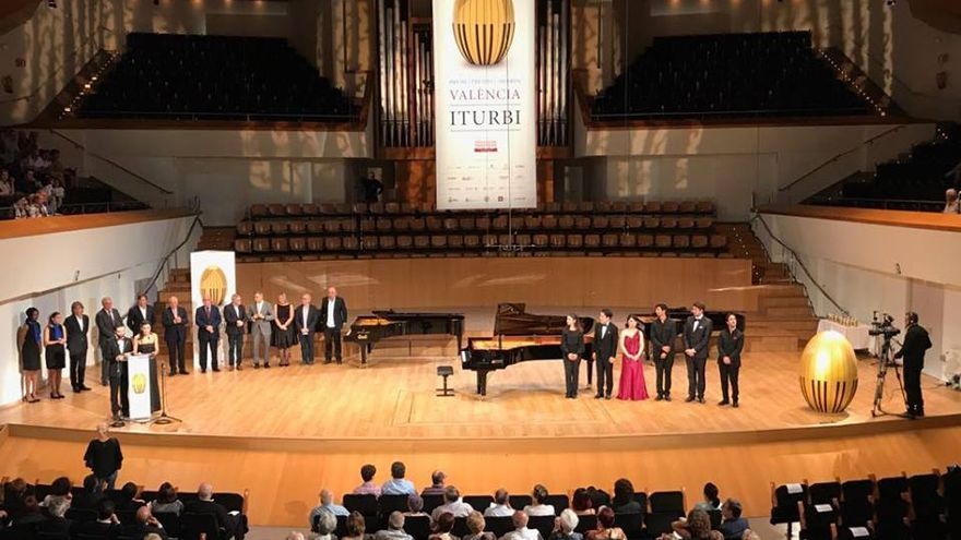 El Palau de la Música acogió el Concurso Internacional de Piano de València