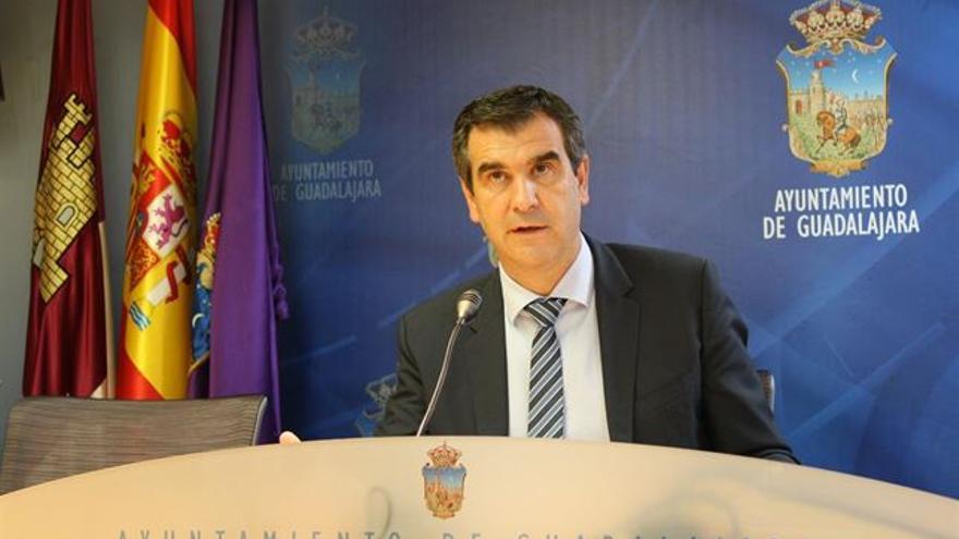 Antonio Román es alcalde de Guadalajara