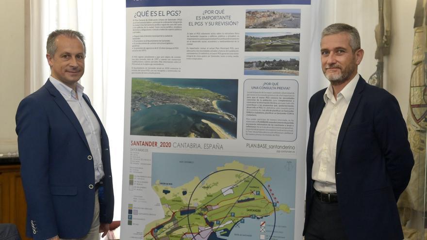 Antonio Bezanilla, a la izquierda, y Javier Ceruti.