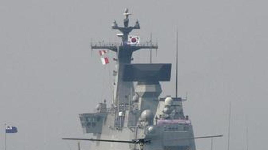 Barco de Corea del Sur