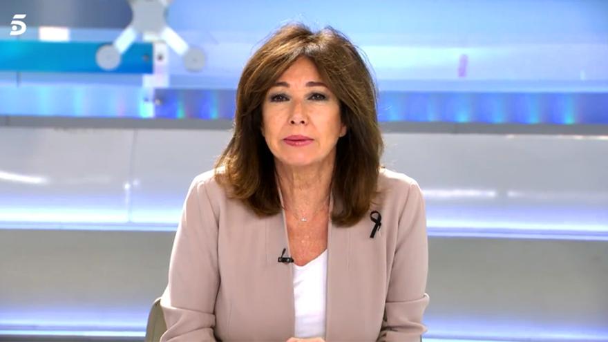Ana Rosa Quintana, en su regreso a plató