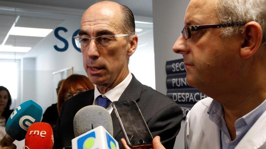 Vázquez Almuiña, conselleiro de Sanidade