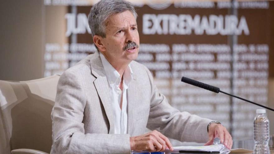 Consejero de Economía e Infraestructuras, José Luis Navarro
