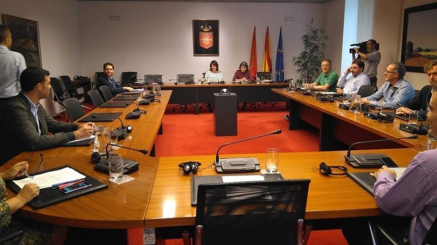 El Parlamento foral constituye la comisión de investigación sobre la planta de biometanización de Ultzama