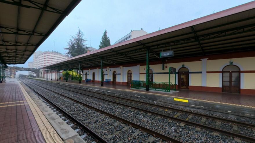 Estación ferroviaria de Lugo, sin trenes / Adif