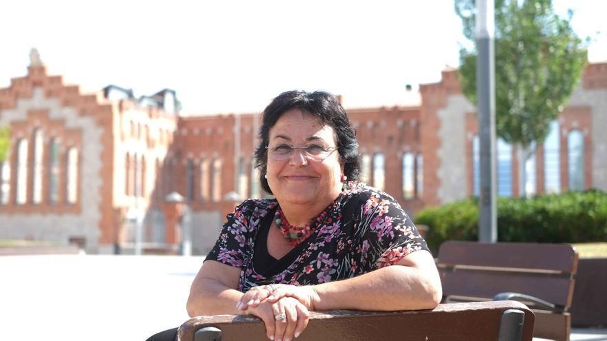 Maria José Figueras, rectora de la Universitat Rovira i Virgili