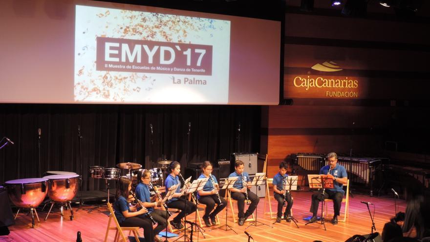 En la imagen, Academia de Instrumentos Musicales de CajaCanarias.