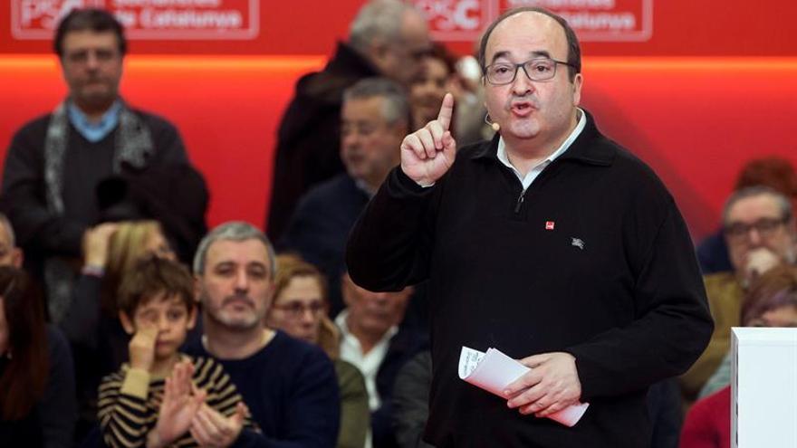 Iceta: No permitiremos que los niños de Cataluña sean divididos por la lengua