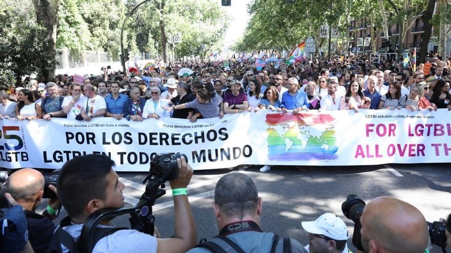 Tres casos graves entre las más cien personas atendidas en la celebración de la manifestación del WorldPride en Madrid