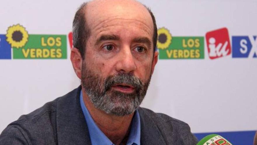 Santiago Pérez, concejal de 'Por Tenerife' en el Ayuntamiento de La Laguna.