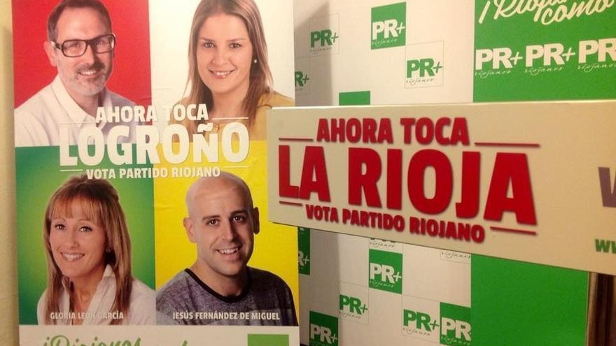 Partido Riojano inspira su campaña en 'Ocho Apellidos Vascos'