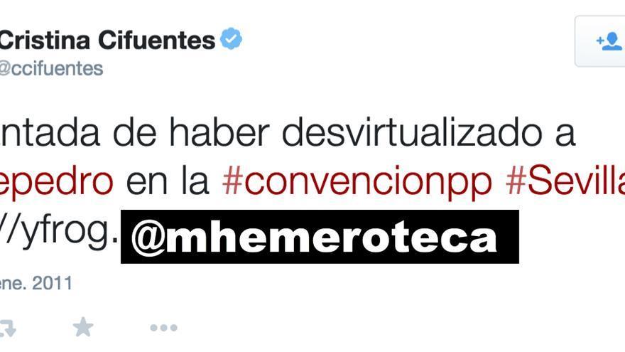 """Cifuentes """"desvirtualiza"""" a De Pedro"""