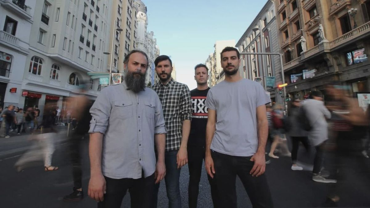 Los integrantes de la banda de rock Toundra.