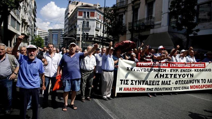 Grecia y la máquina de tragar rescates