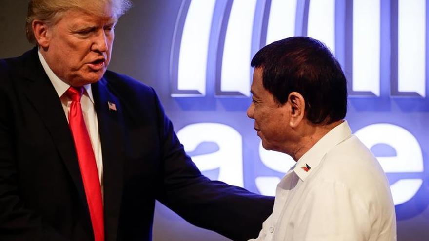Trump inicia su agenda en la cumbre de líderes en Manila