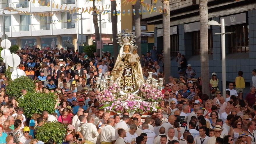 Imagen de archivo del día grande de las fiestas de Puerto de la Cruz