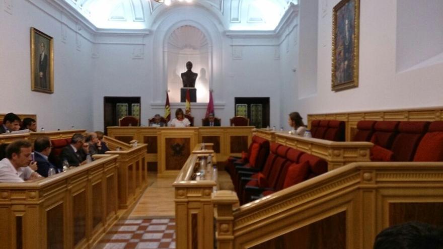 Pleno municipal de Toledo, sin representación del Partido Popular