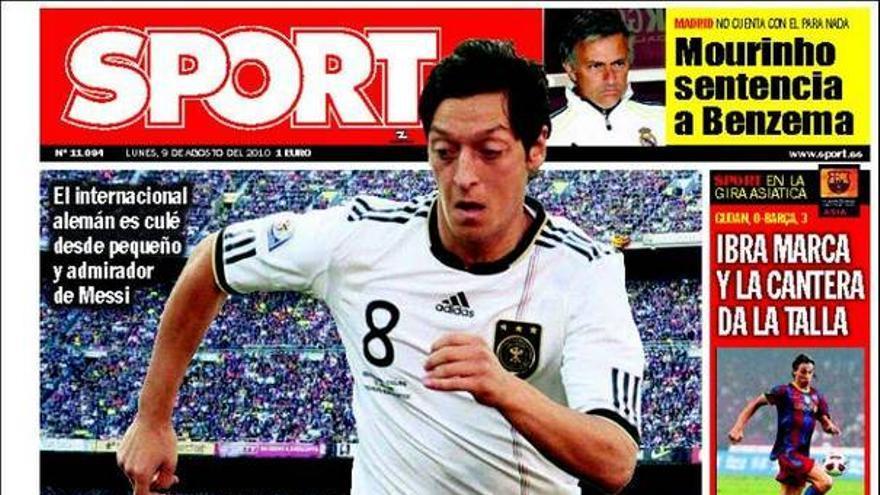 De las portadas del día (09/08/2010) #16