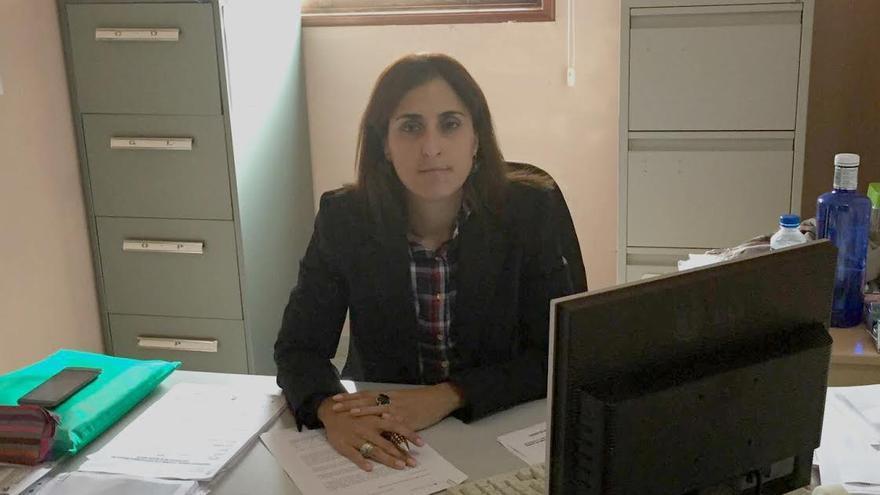 Rocío Rocha, concejal de Servicios Sociales del Ayuntamiento de la Villa de Garafía.