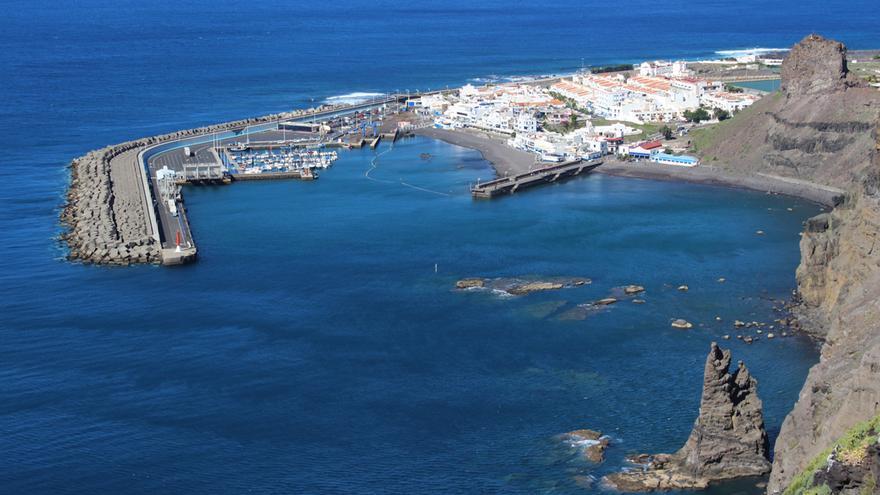 Vista del Puerto de Las Nieves
