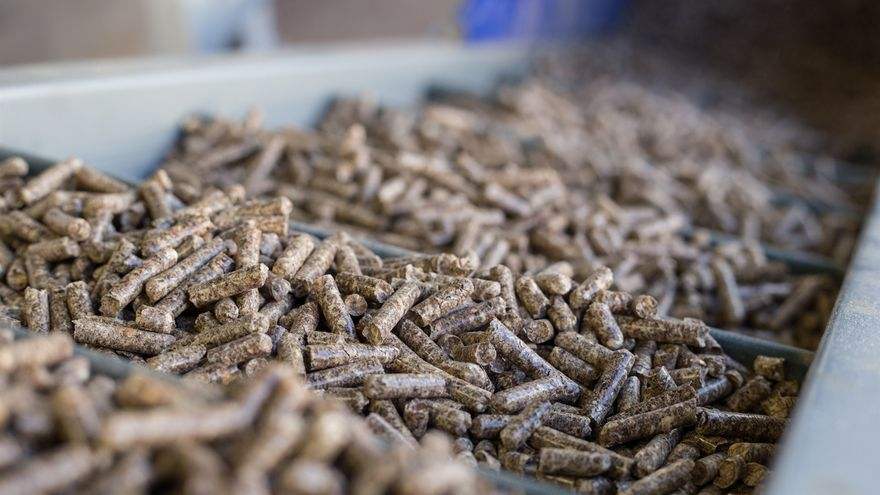 Las cuatro fábricas de pellets de Euskadi produjeron el pasado año 50.300 toneladas, el 7% del total nacional