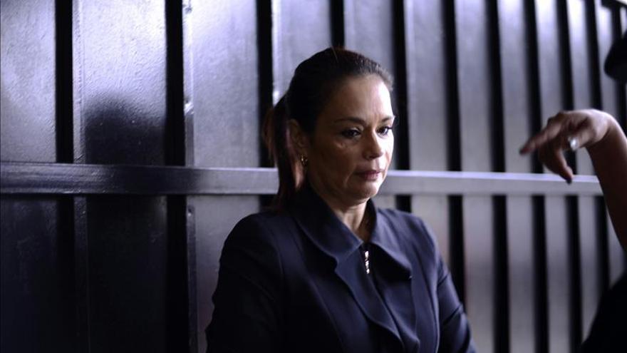 Exvicepresidenta de Guatemala solicita privilegios en prisión