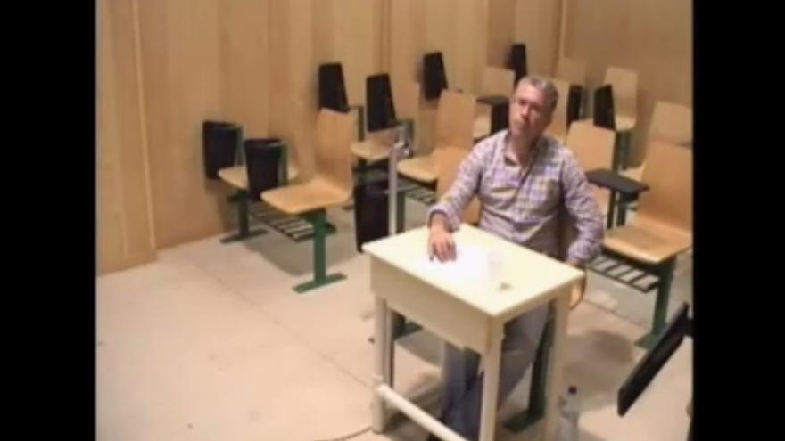 Granados comparece desde la cárcel en la Asamblea de Madrid
