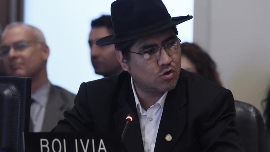 Bolivia suspende la sesión sobre Venezuela en la OEA