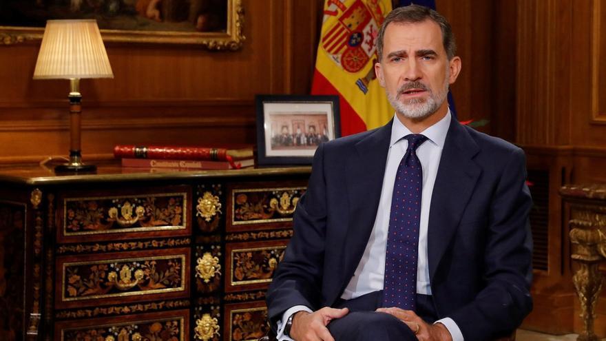 PP, Cs y Vox elogian del discurso del Rey que insta a no caer en la auto crítica destructiva y confiar en España