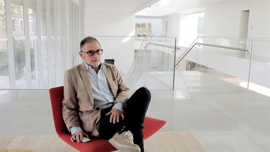 El autor y activista Meir Margalit, ganador del premio Catarata con un ensayo dedicado a Jerusalén.