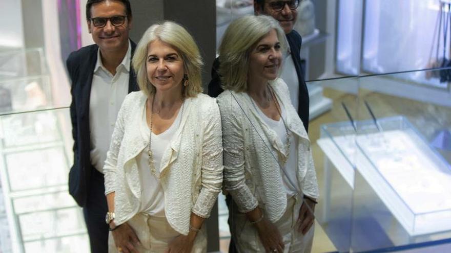 La presidenta de Tous, Alba Tous y Carlos Soler-Duffo, consejero delegado de la compañía.
