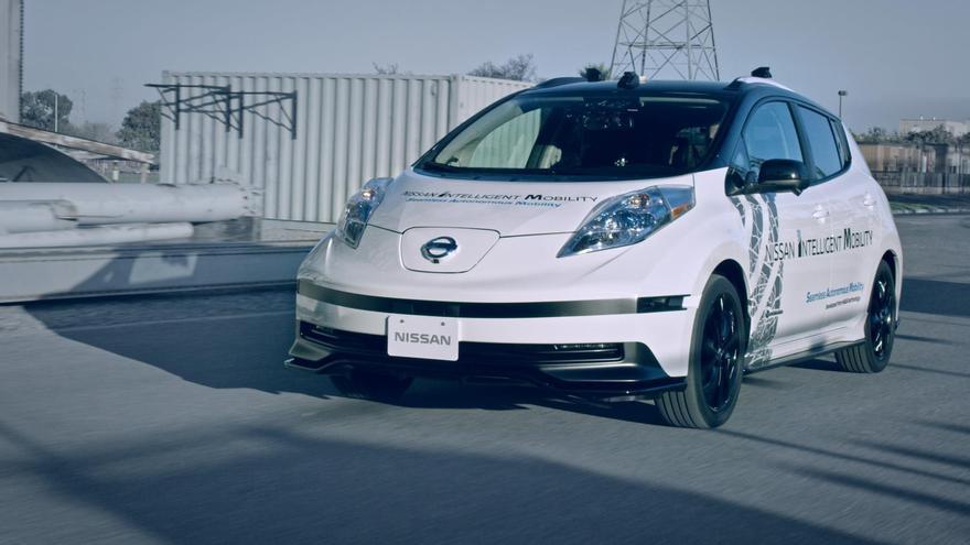 La apuesta de Nissan no explora la faceta pecuniaria del coche autónomo sino básicamente su seguridad.