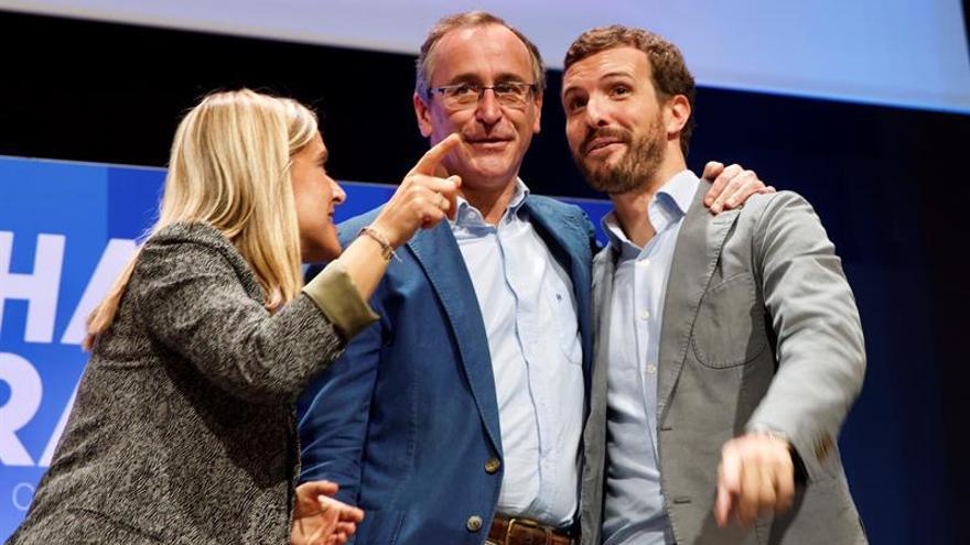 """El PP vasco reivindica su historia de """"valentía"""" ante los que """"dan lecciones"""""""