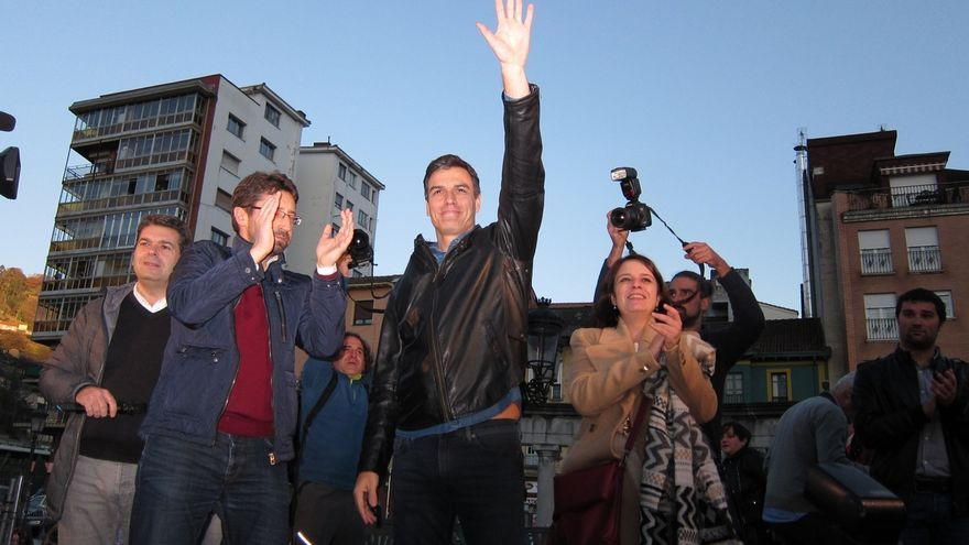 """Pedro Sánchez: """"En el PSOE no sobra nadie, lo que falta es la voz y el voto de la militancia"""""""