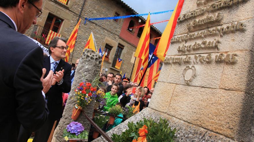 """Mas señala que el catalán """"es patrimonio de todos los catalanes"""", lo hablen o no"""