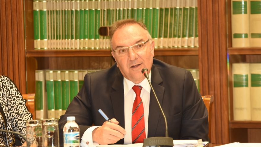 José Manuel Baltar es consejero de Sanidad del Gobierno de Canarias.