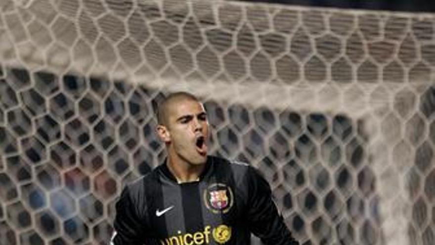 Victor valdes portero barcelona