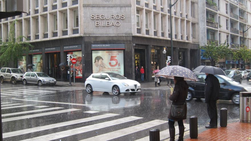 Activado el aviso amarillo por lluvias que podrían superar los 60 l/m2 en 24 horas