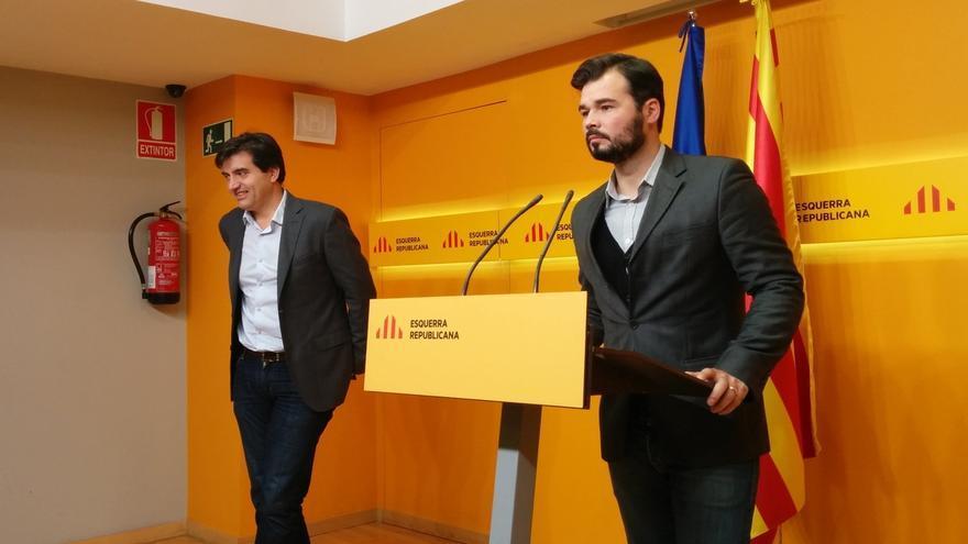 """Rufián (ERC) ve """"chantaje"""" en las condiciones del FLA para Cataluña"""