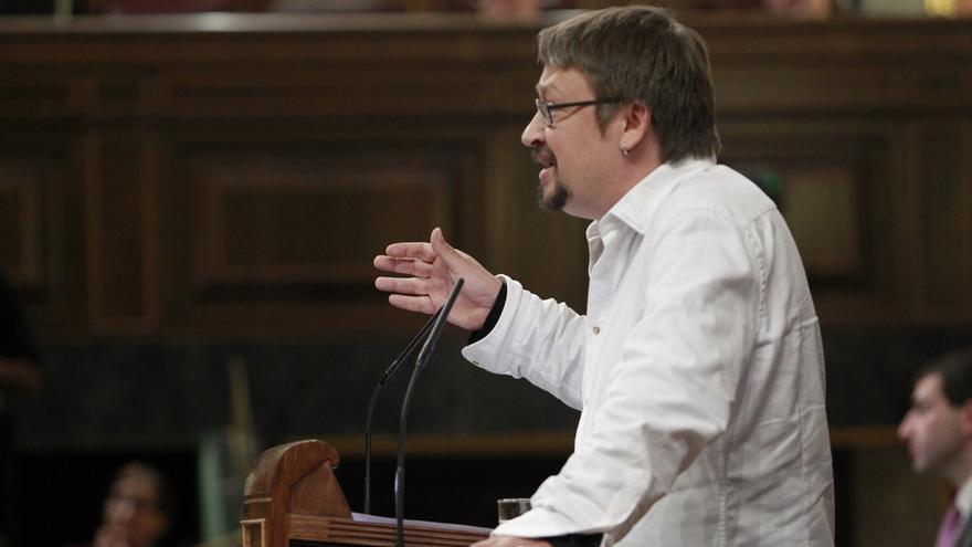 Domènech (EnComúPodem) cree que el preacuerdo Podemos-IU acerca el referéndum