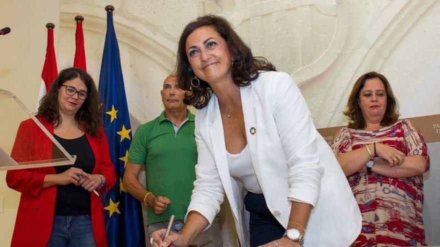 PSOE y Podemos forman un Gobierno estable en La Rioja.