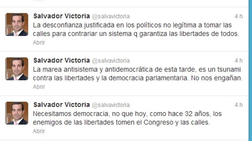 Ataque al derecho de manifestación del portavoz del Gobierno madrileño.