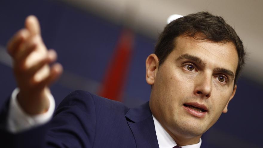 Rivera defiende ante el Rey que se actúe contra quienes quieren saltarse las leyes en Cataluña