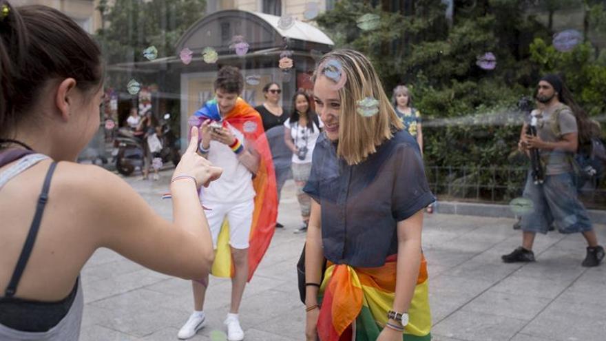 La Gran Vía de Madrid estará cortada hoy por la manifestación del Orgullo