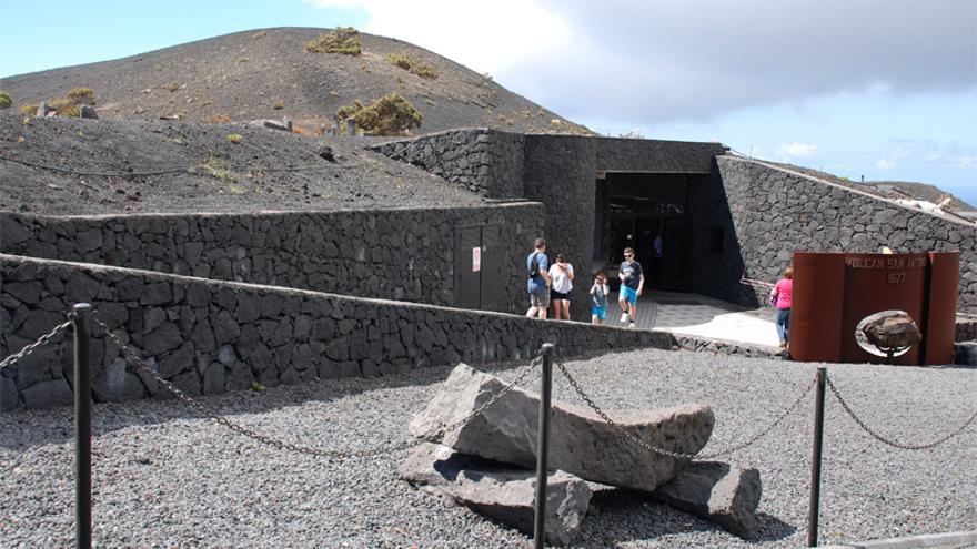Centro de Visitantes Volcán de San Antonio, en Fuencaliente.