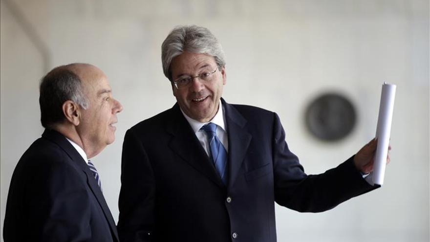 Canciller reafirma la confianza de Italia en la economía brasileña