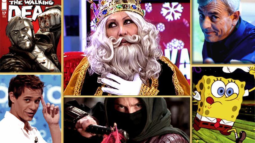 """¡Ya vienen los Reyes Magos! Cargaditos de regalos """"anunciados en televisión"""""""