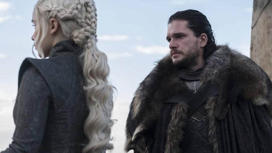 El encuentro de la temporada entre Jon y Daenerys