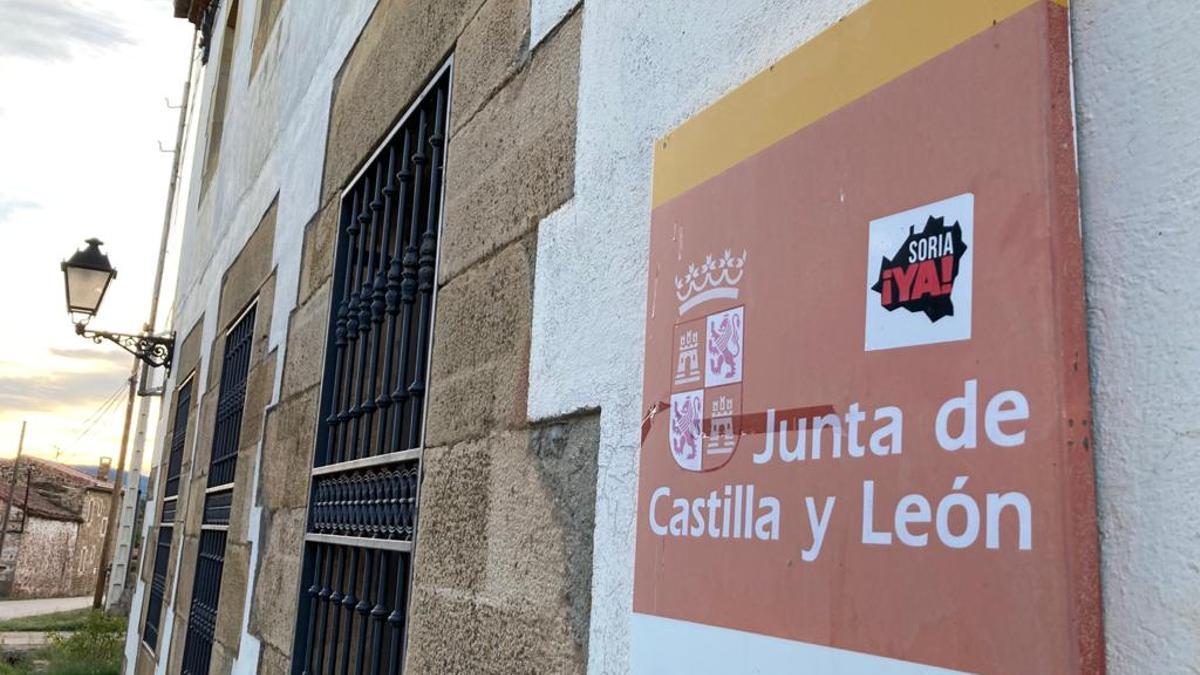 Consultorio rural de Rebollar, en Soria.