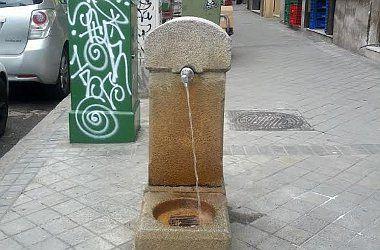Fuente en Santa Cruz de Marcenado